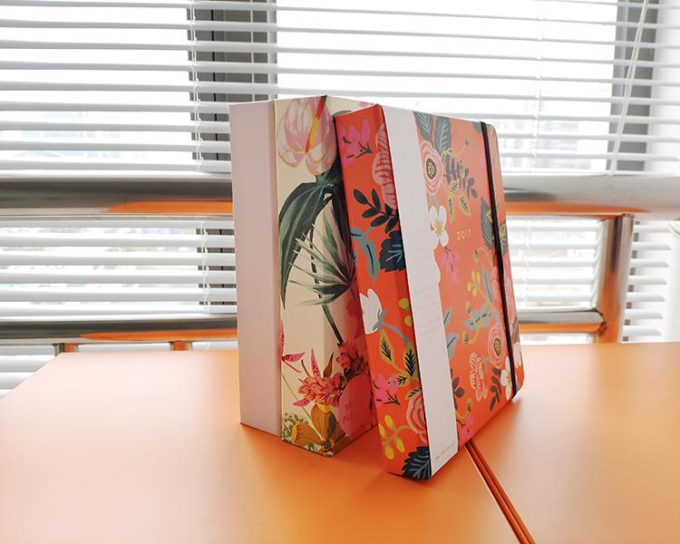 活页铁圈笔记本精装书印刷